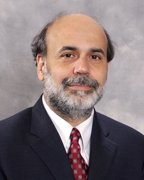 Ben Bernanke, Fed Chairman.