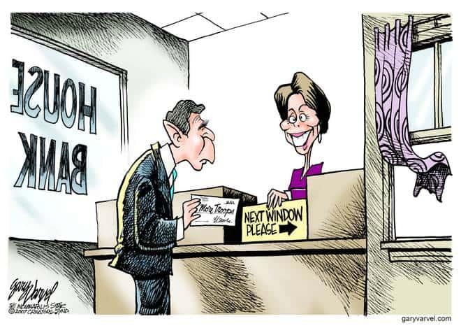 Editorial Cartoons by Gary Varvel - gv20070109cd - 09 January 2007
