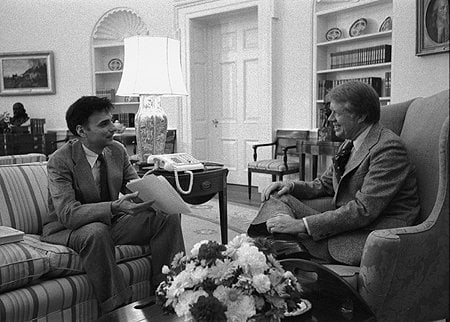 Ralph Nader With Jimmy Carter