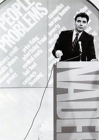Ralph Nader speaking