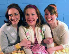 Vanessa Burke, Nicole Patullo and Cara Liander as Betty and The Belrays.