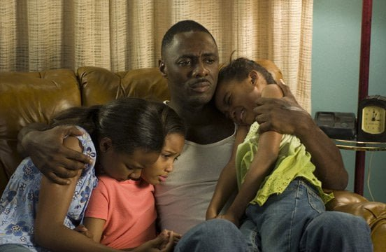 Idris Elba as Monty and his three girls