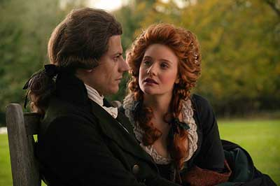 Ioan Gruffudd and Romola Garai in Amazing Grace