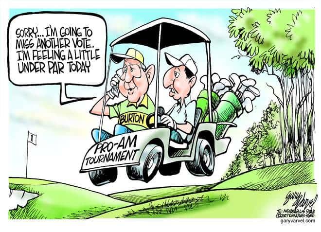 Editorial Cartoons by Gary Varvel - gv20070207cd - 07 February 2007