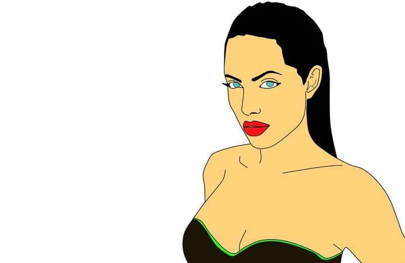 angelina jolie. Image by waldryano from Pixabay