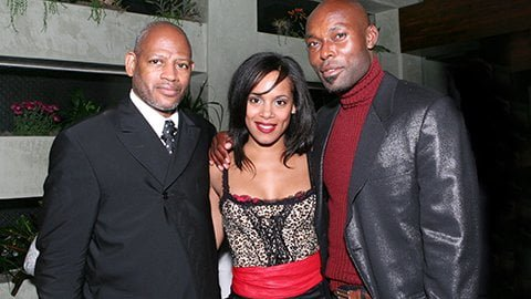 Filmmaker Tim Alexander, Co Star Paula Lema and Star Jimmy Jean Louis