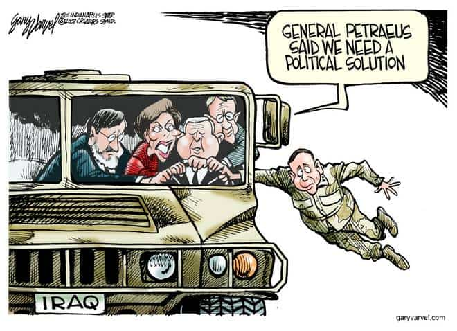 Editorial Cartoons by Gary Varvel - gv20070312cd - 12 March 2007