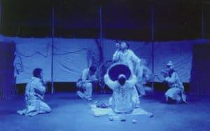 Sakhna Theatre from Bishkek, Kyrgyzstan in Central Asia performs Testament or Kerez