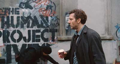 Theodore Fearon, played by Clive Owen in Children of Men