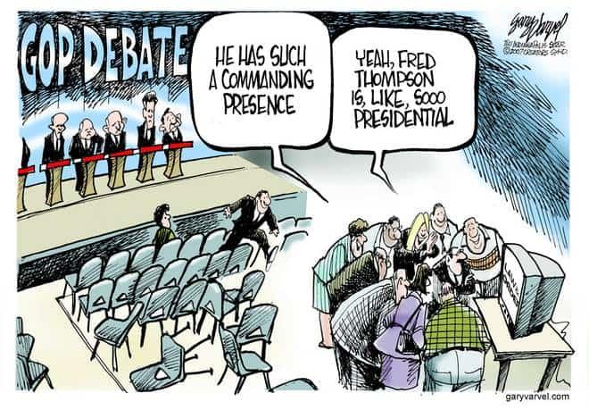 Editorial Cartoons by Gary Varvel - gv20070517cd - 17 May 2007