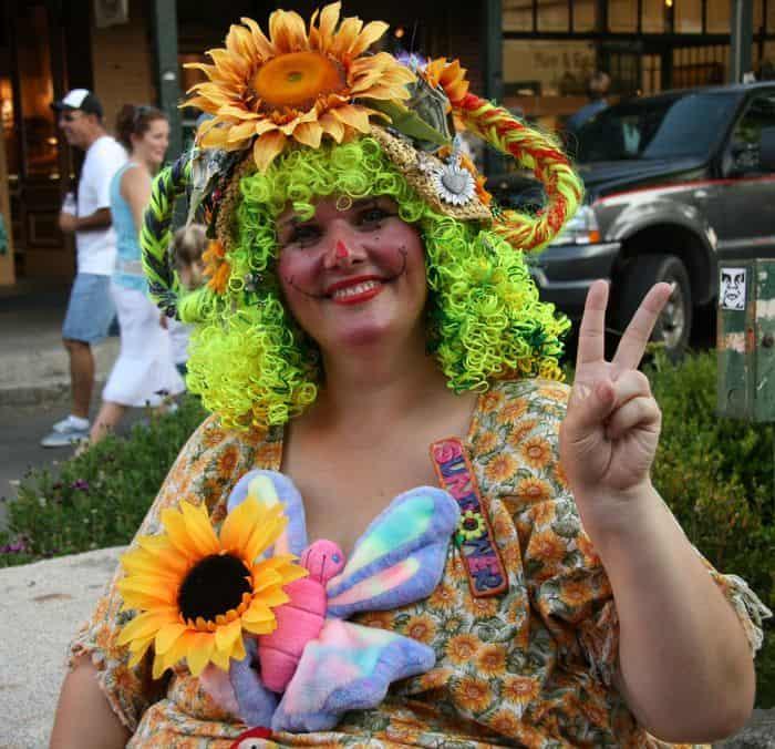 Sunflower the Clown