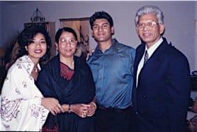 Din Family Sabrina, Hena and Rouben