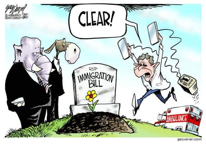 Editorial Cartoons by Gary Varvel - gv20070612cd - 12 June 2007