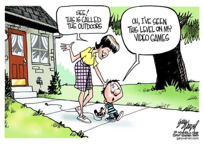 Editorial Cartoons by Gary Varvel - gv20070622cd - 22 June 2007