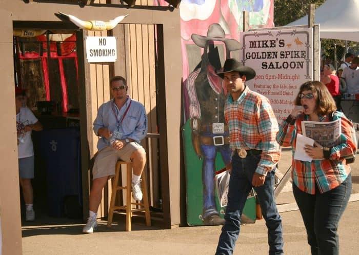 Kids love the Folsom Pro Rodeo, 4th July 2007