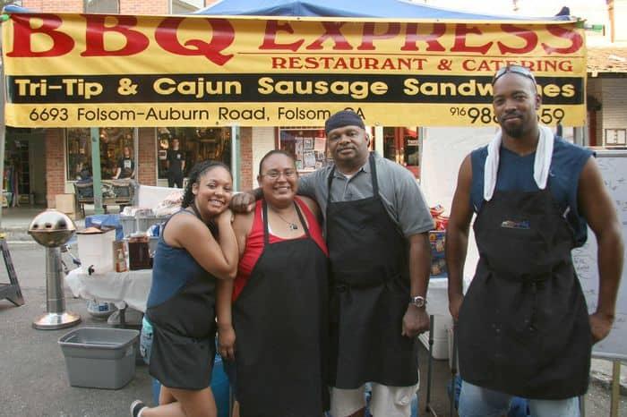 BBQ Express at Thursday Night Market.