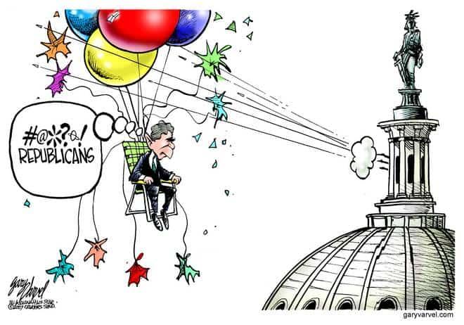 Editorial Cartoons by Gary Varvel - gv20070713cd - 13 July 2007