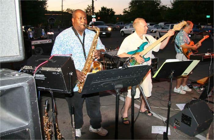 The band puts it all together at Thursday Night Market in Folsom.