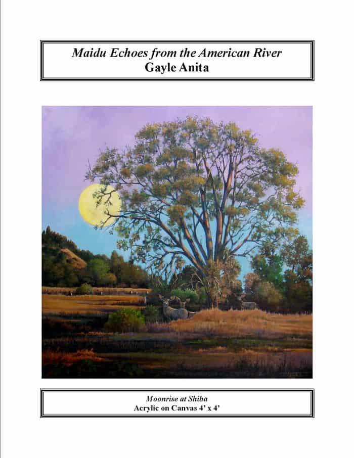Moonrise at Shiba. By Gayle Anita