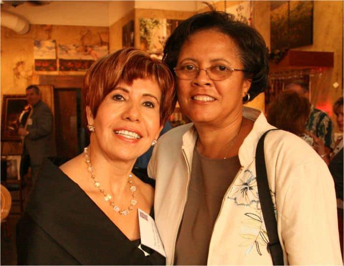 Myriam Lieberman and Dr Thelma Scott Skillman.