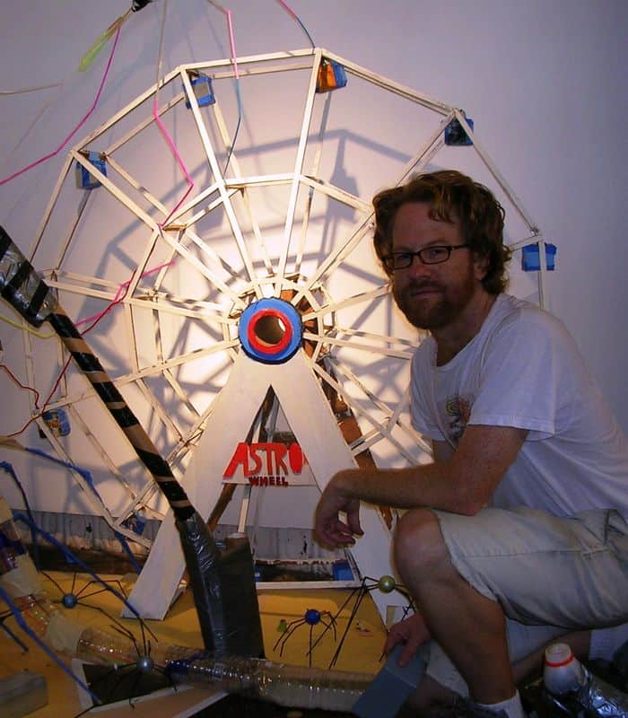 Mark Stilwell and Ferris wheel.