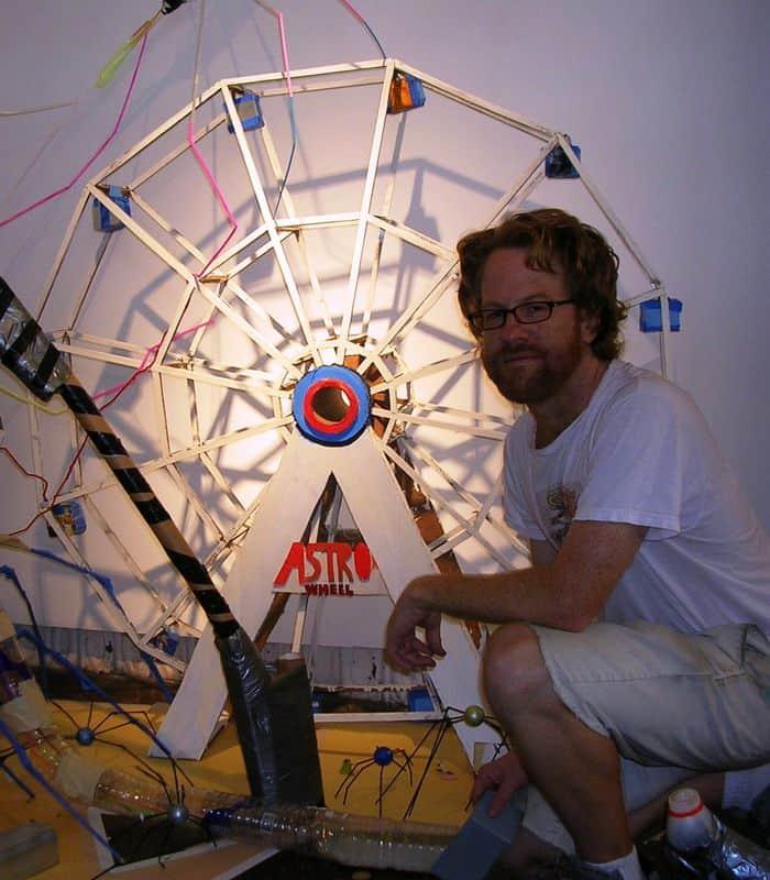 Mark Stilwell and Ferris wheel.