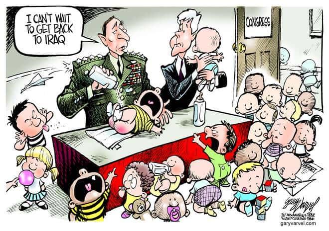 Editorial Cartoons by Gary Varvel - gv20070912cd - 12 September 2007