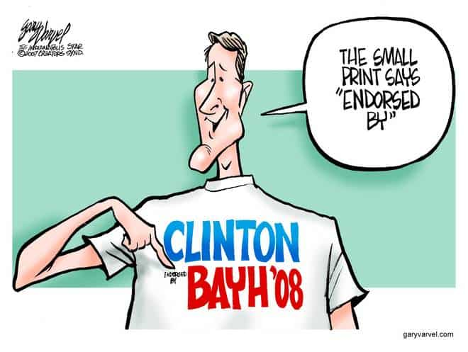 Editorial Cartoons by Gary Varvel - gv20070925cd - 25 September 2007