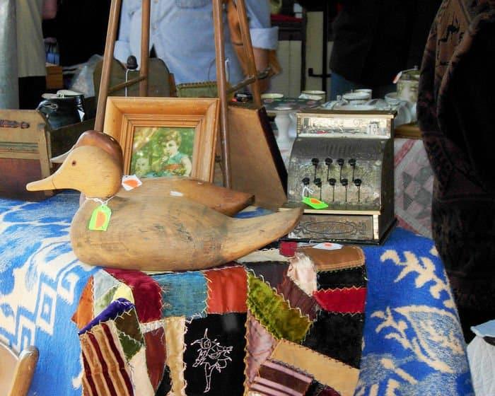 collectors treasure at the fall fair