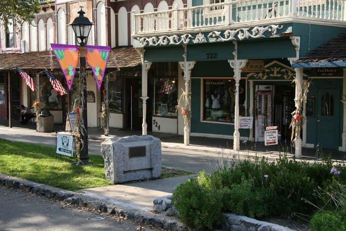 Part of Historic Sutter Street, Folsom.