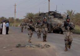 4th Stryker Brigade soldiers in Rashidiyah