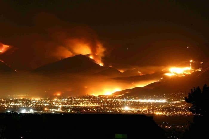 San Diego On Fire.