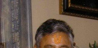 Rajan Zed, a Hindu chaplain from Reno, Nevada.