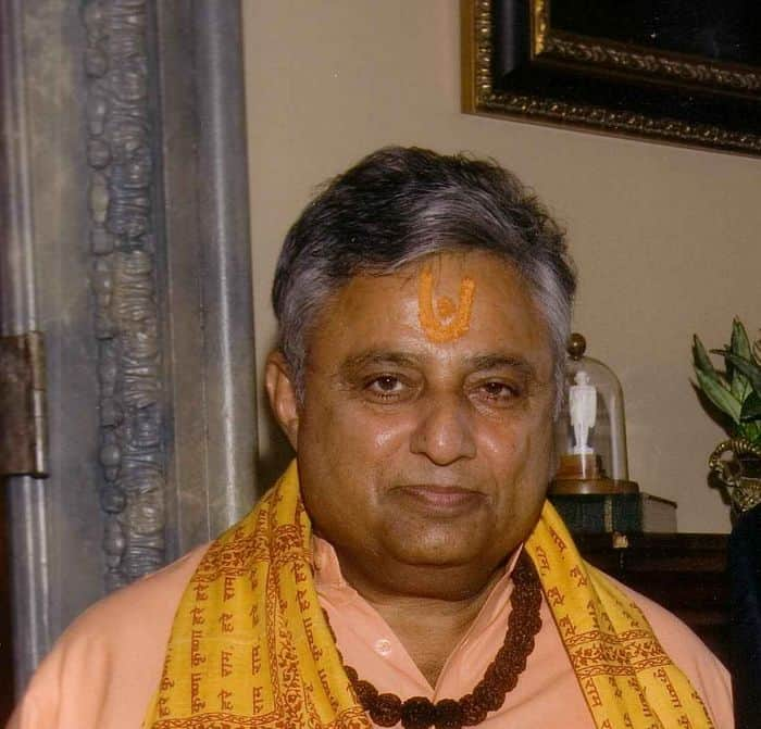 Rajan Zed, a Hindu chaplain from Reno, Nevada.
