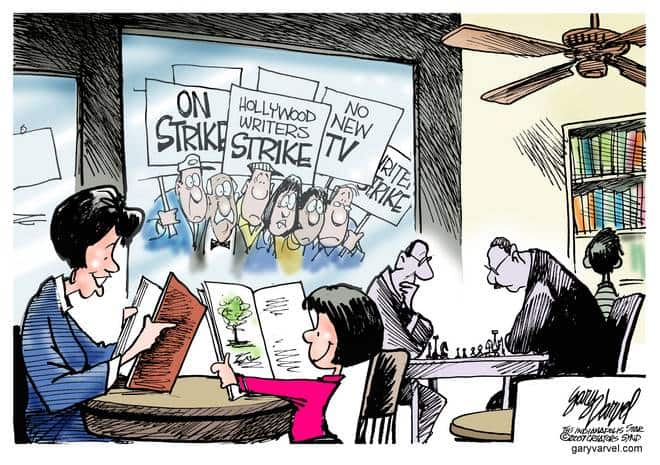 Editorial Cartoons by Gary Varvel - gv20071106cd - 06 November 2007