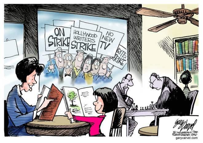 Editorial Cartoons by Gary Varvel - gv20071106cd - 06 November 2007