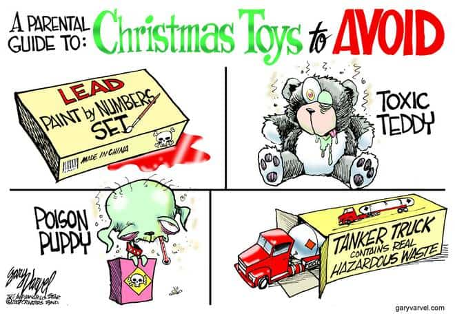 Editorial Cartoons by Gary Varvel - gv20071120cd - 20 November 2007