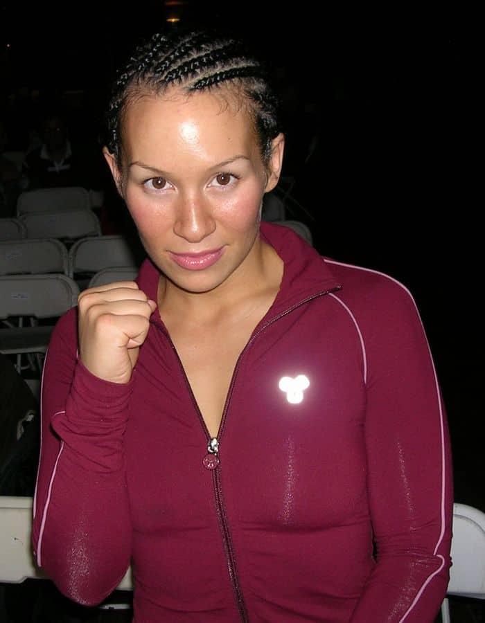 After fight Noriko Kariya at the Roseland Ballroom.