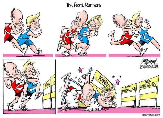 Editorial Cartoons by Gary Varvel - gv20071205cd - 05 December 2007