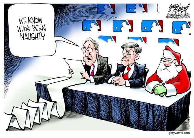 Editorial Cartoons by Gary Varvel - gv20071214cd - 14 December 2007