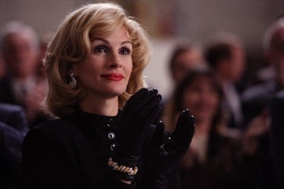 Julia Roberts as socialite Joanne Herring in Charlie Wilson's War.