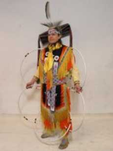 Hoop Dancer Michael Taylor Dancing Wolf.