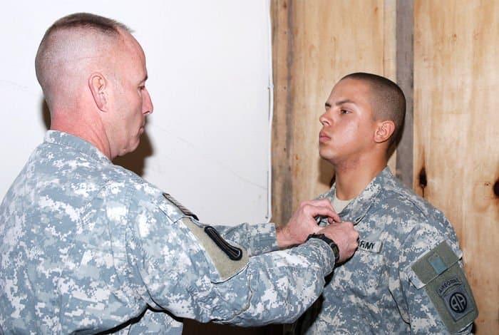 Sgt. Ciro presented ARCOM