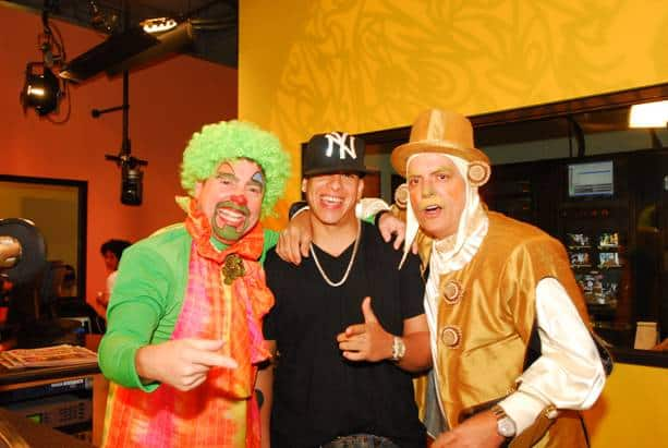 El Gangster, Daddy Yankee and Funky Joe.