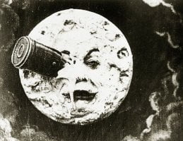 A Voyage to the Moon by Georges Melies.