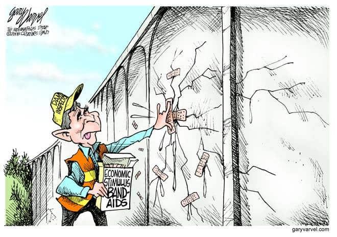 Editorial Cartoons by Gary Varvel - gv20080121cd - 21 January 2008