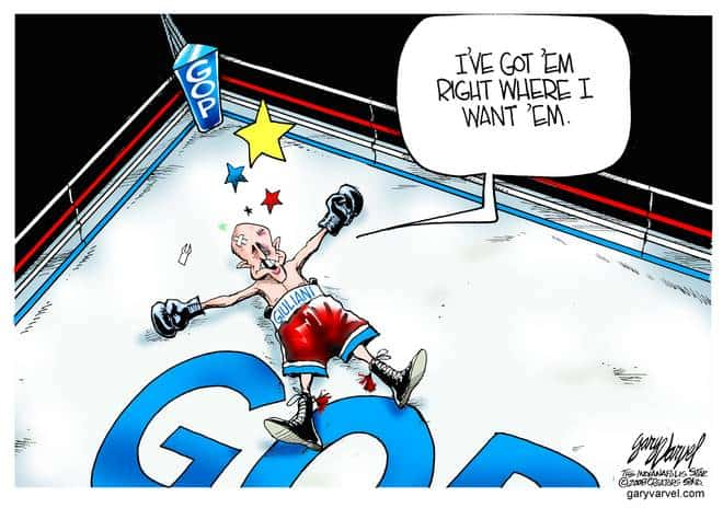 Editorial Cartoons by Gary Varvel - gv20080125acd - 25 January 2008