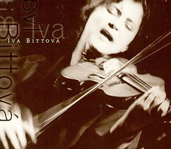 Iva Bittova, CD cover.