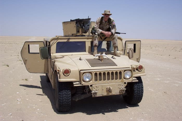Master Sgt. Michael Wieck, 440th Security Forces Squadron, supported security forces operations in Southwest Asia during the summer of 2002.