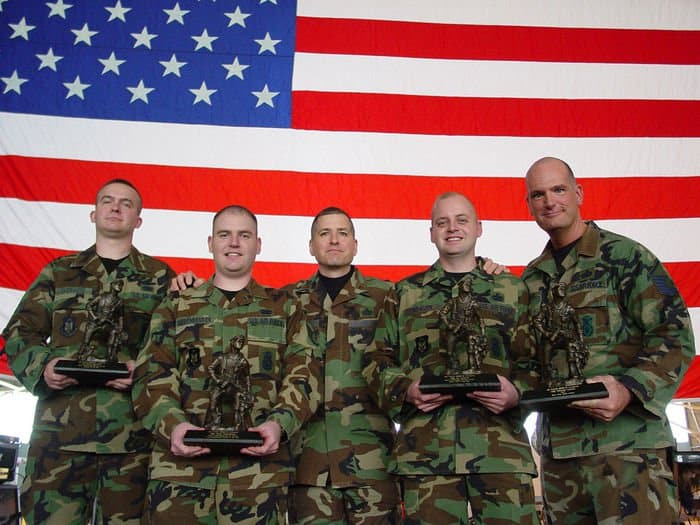 440th Security Forces Squadron Reservists earned top honors from Air Force Reserve Command in 2007 for their work in the Global War on Terror.